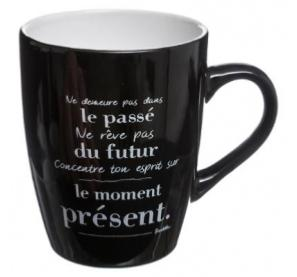 MUG ROND CITATION