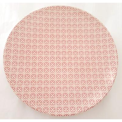 "ASSIETTE ROSE CORAIL ""DREAMS"""